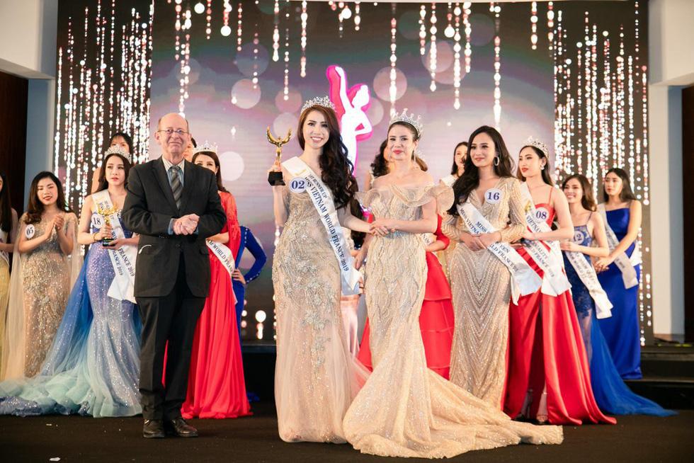 Trần Vũ Hương Trà đăng quang Hoa hậu thế giới người Việt tại Pháp 2019 - Ảnh 5.