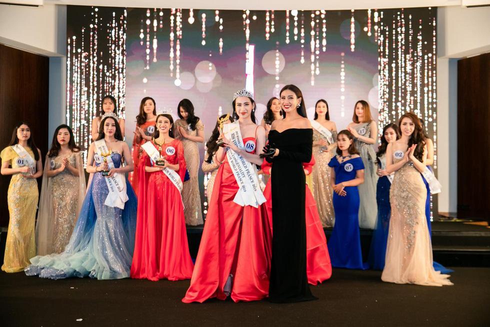 Trần Vũ Hương Trà đăng quang Hoa hậu thế giới người Việt tại Pháp 2019 - Ảnh 6.