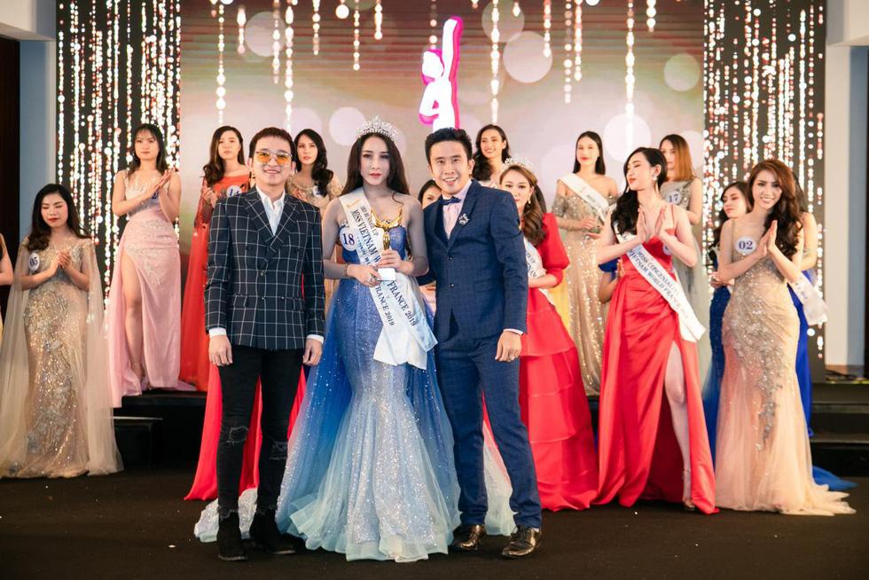 Trần Vũ Hương Trà đăng quang Hoa hậu thế giới người Việt tại Pháp 2019 - Ảnh 7.