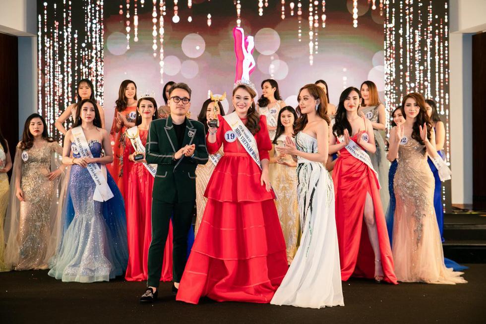 Trần Vũ Hương Trà đăng quang Hoa hậu thế giới người Việt tại Pháp 2019 - Ảnh 8.