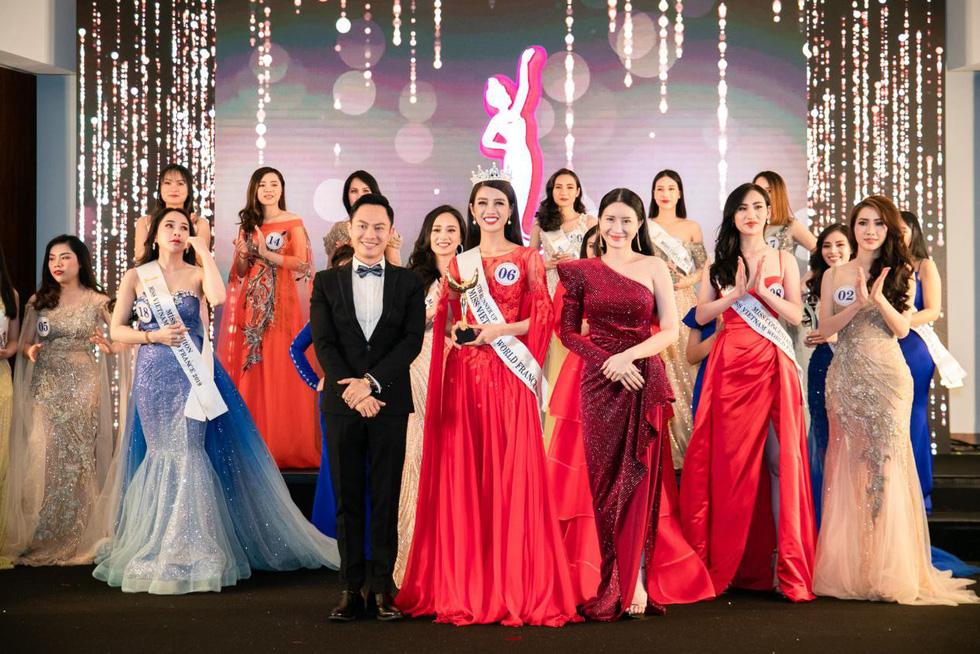 Trần Vũ Hương Trà đăng quang Hoa hậu thế giới người Việt tại Pháp 2019 - Ảnh 9.