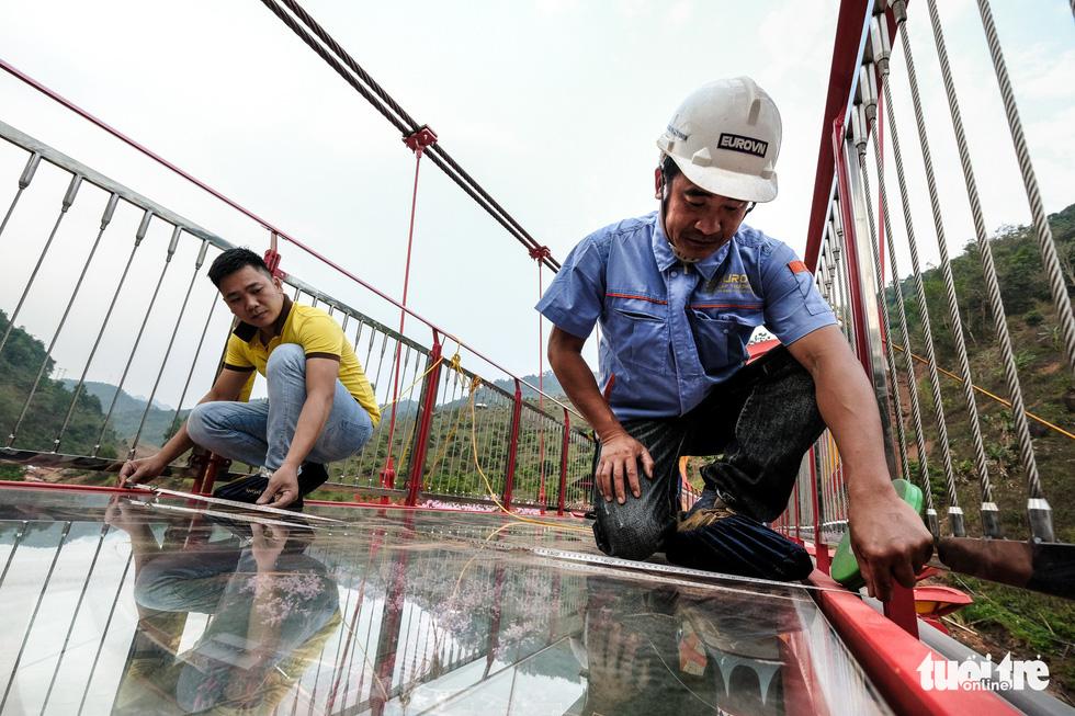 Cầu kính 5D dài 80m đầu tiên tại Việt Nam - Ảnh 15.