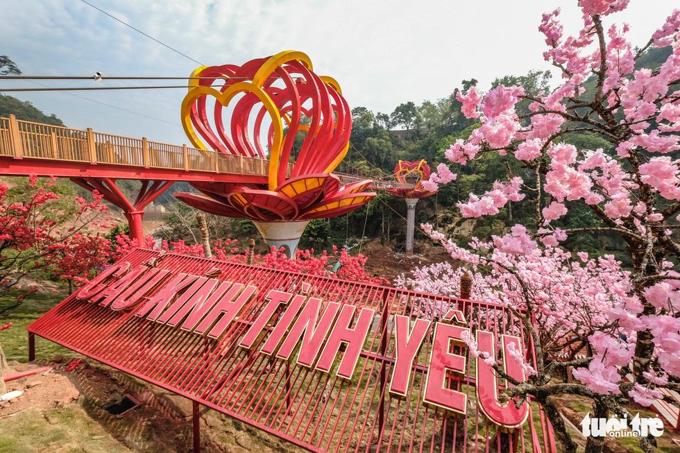 Cầu kính 5D dài 80m đầu tiên tại Việt Nam - Ảnh 1.