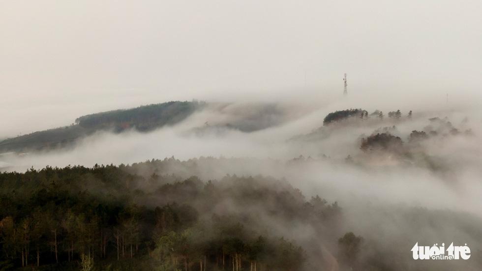 Đà Lạt đẹp kỳ ảo mùa sông mây - Ảnh 6.
