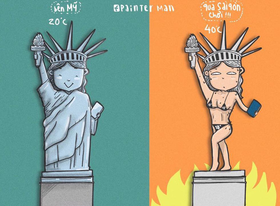 Dân mạng chế ảnh Sài Gòn nóng hầm hập không thua... nồi lẩu - Ảnh 9.