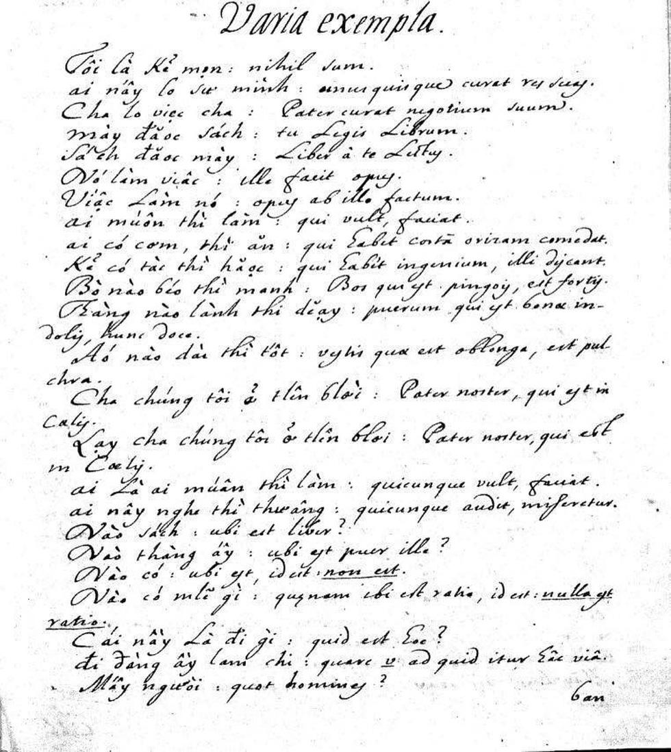 Francesco De Pina - người đầu tiên tạo chữ quốc ngữ - Ảnh 3.