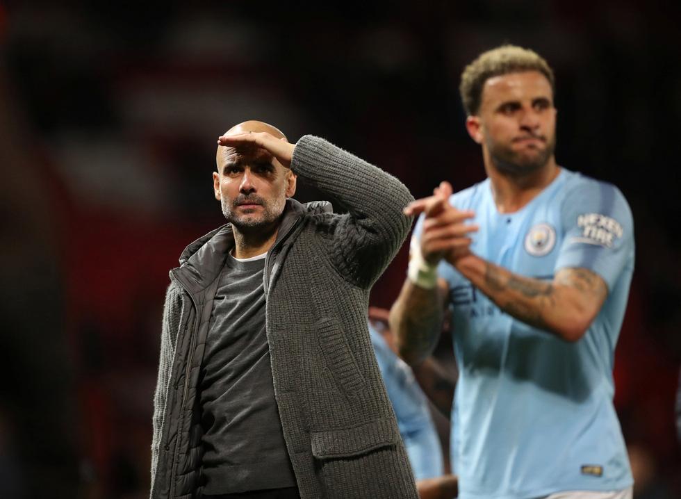HLV Guardiola nhìn về chức vô địch sau trận derby Manchester - Ảnh 11.