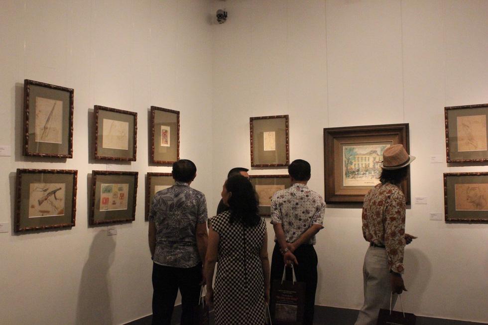 Ngắm Sài Gòn rực rỡ trong tranh Bùi Xuân Phái - Ảnh 6.