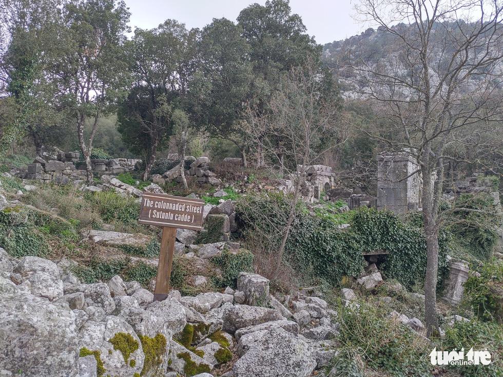 Nghe gió, ngắm mây trên những cổng đá ngàn năm của Termessos - Ảnh 2.