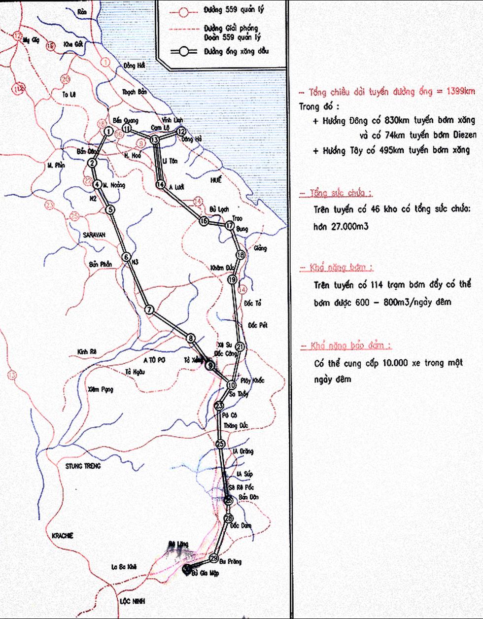 Tướng Đồng Sỹ Nguyên và đường ống xăng dầu vượt Trường Sơn bão lửa - Ảnh 6.