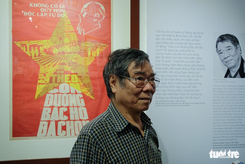 Triển lãm chân dung Hồ Chí Minh từ tranh cổ động - Ảnh 5.