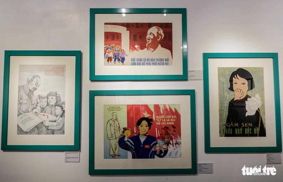 Triển lãm chân dung Hồ Chí Minh từ tranh cổ động - Ảnh 7.
