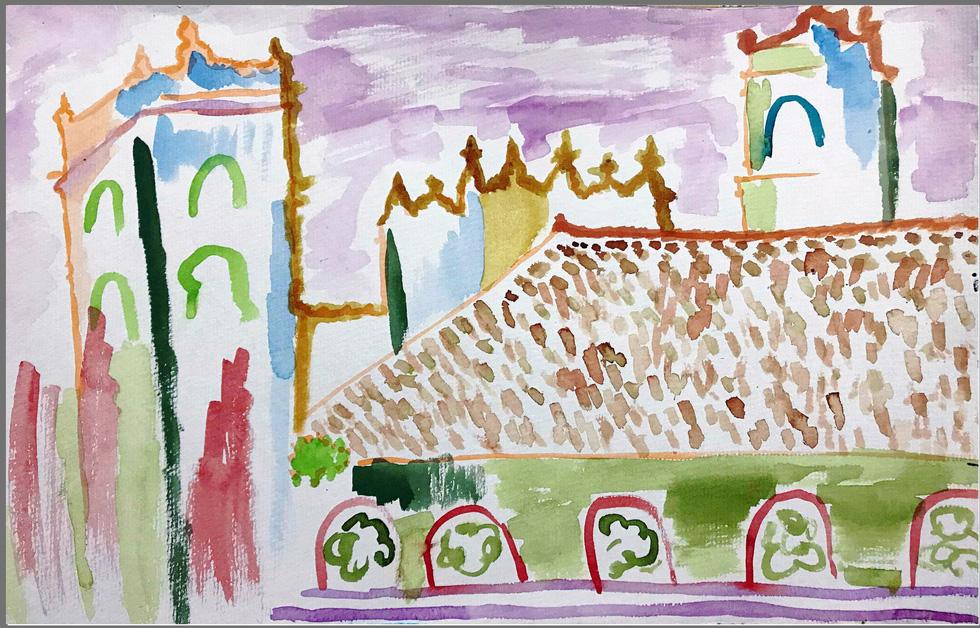 Giáo dân Bùi Chu phát hiện nhà thờ của mình lộng lẫy trên... ký họa - Ảnh 16.