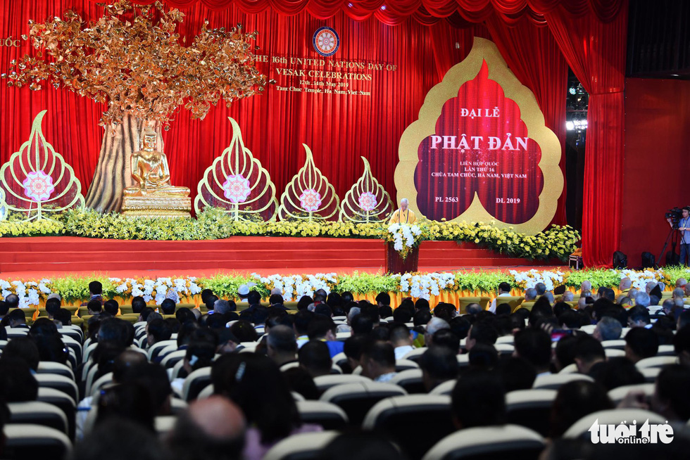 Đại lễ Phật đản Liên Hiệp Quốc tại Việt Nam: Mỗi người là sứ giả của Đức Phật - Ảnh 12.