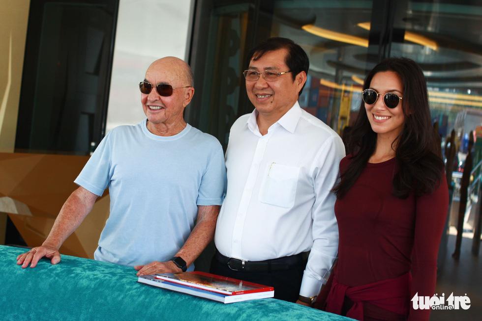 Ông chủ đội Tottenham quan tâm đầu tư cảng du lịch tại Đà Nẵng - Ảnh 3.