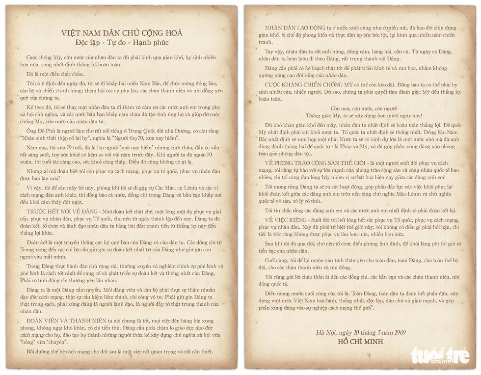 Di chúc Chủ tịch Hồ Chí Minh mang tầm vóc cương lĩnh xây dựng đất nước - Ảnh 8.