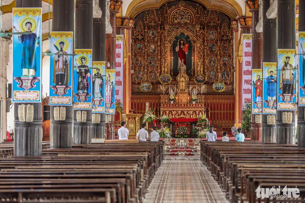 Ngắm hình ảnh nhà thờ Bùi Chu đẹp ngỡ ngàng sắp hạ giải - Ảnh 11.