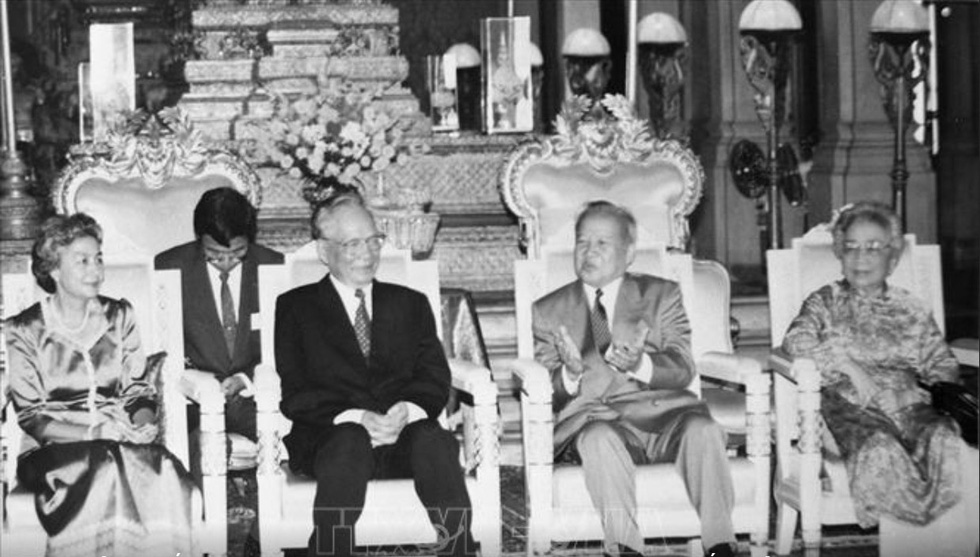 Đại tướng Lê Đức Anh - Tà Sáu Việt Nam của nhân dân Campuchia - Ảnh 6.