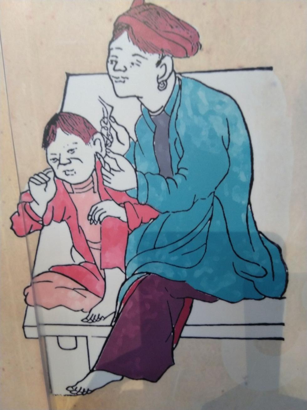 Tết Đoan Ngọ - Tết kì lạ nhất của người Việt qua tranh, tư liệu của tác giả Pháp - Ảnh 9.