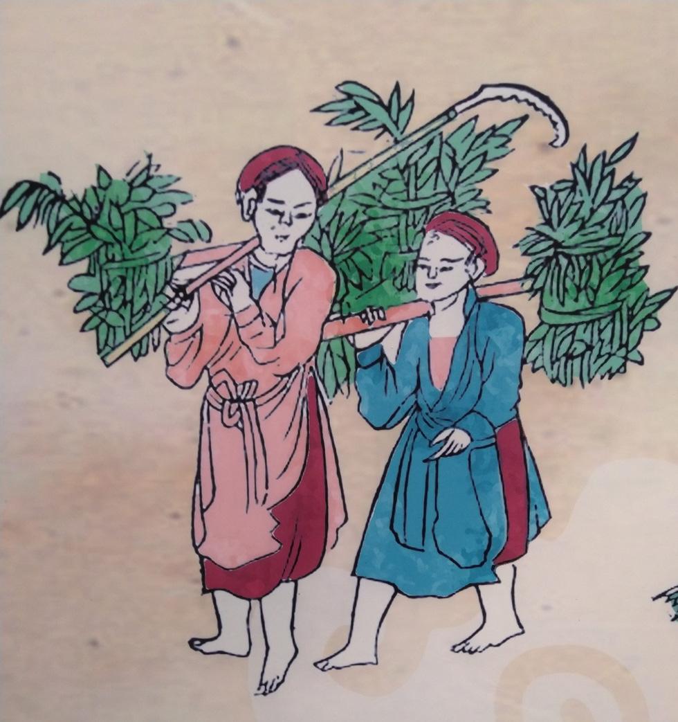 Tết Đoan Ngọ - Tết kì lạ nhất của người Việt qua tranh, tư liệu của tác giả Pháp - Ảnh 14.