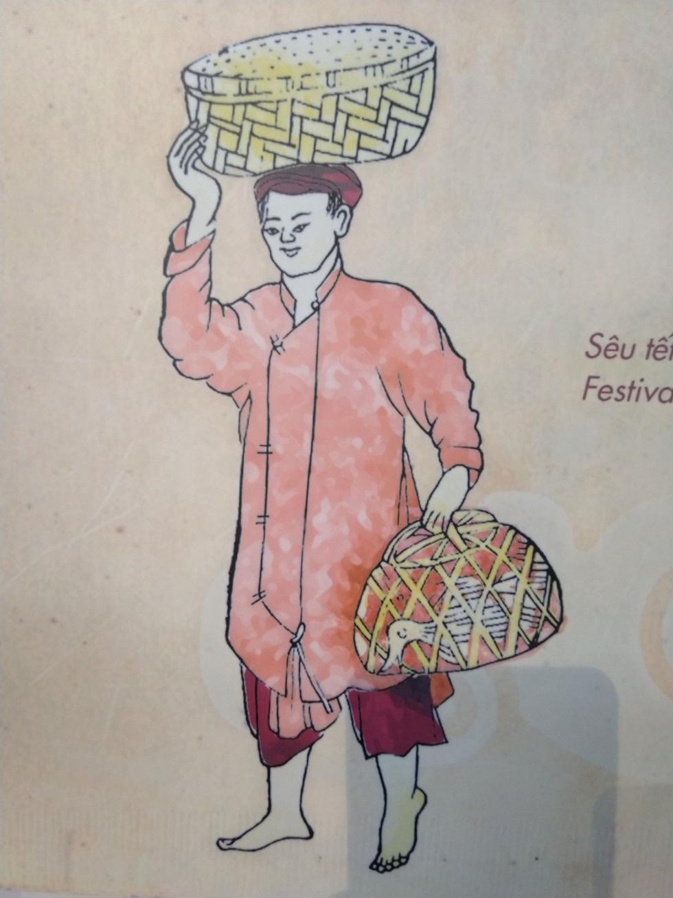 Tết Đoan Ngọ - Tết kì lạ nhất của người Việt qua tranh, tư liệu của tác giả Pháp - Ảnh 15.