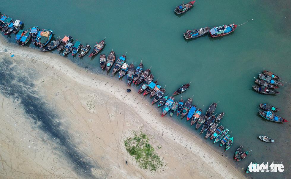 Chợ cá họp trước bình minh nơi làng chài Cửa Nhượng - Ảnh 4.