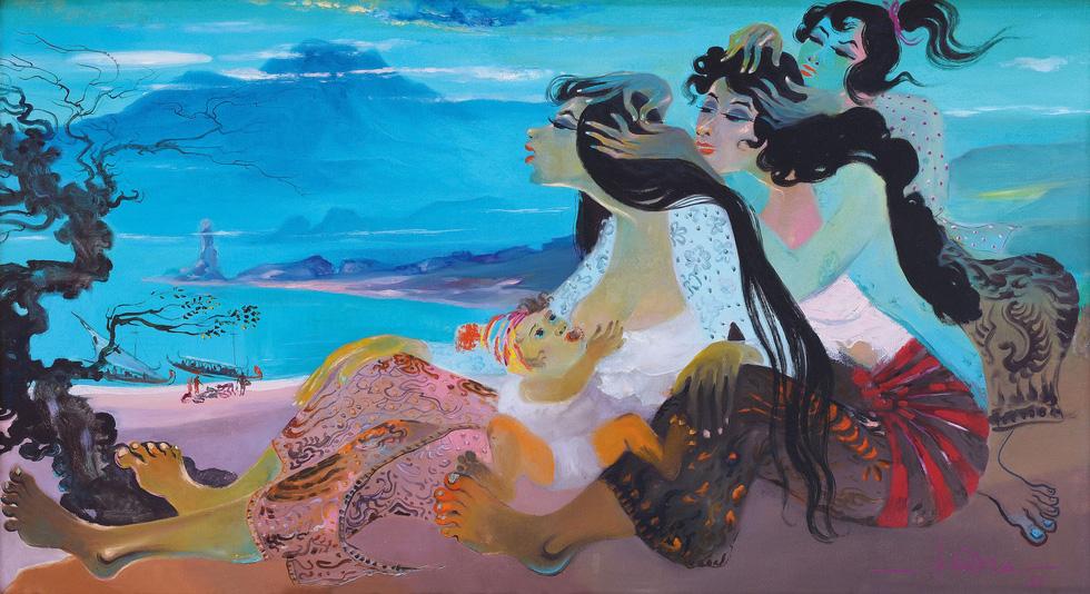 Tranh khỏa thân của Lê Phổ được mua giá kỷ lục 1,4 triệu USD - Ảnh 5.