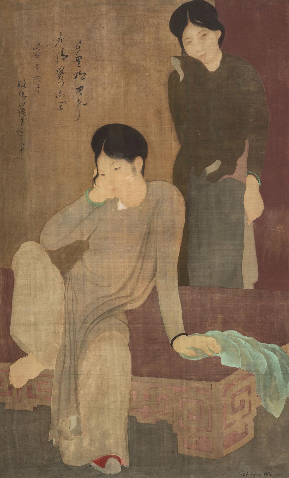 Tranh khỏa thân của Lê Phổ được mua giá kỷ lục 1,4 triệu USD - Ảnh 3.