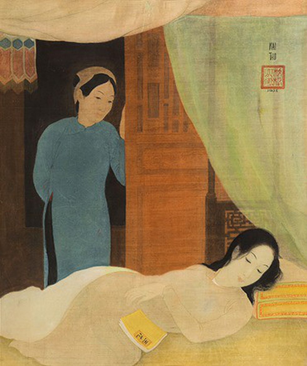 Tranh khỏa thân của Lê Phổ được mua giá kỷ lục 1,4 triệu USD - Ảnh 9.