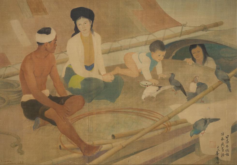 Tranh khỏa thân của Lê Phổ được mua giá kỷ lục 1,4 triệu USD - Ảnh 4.