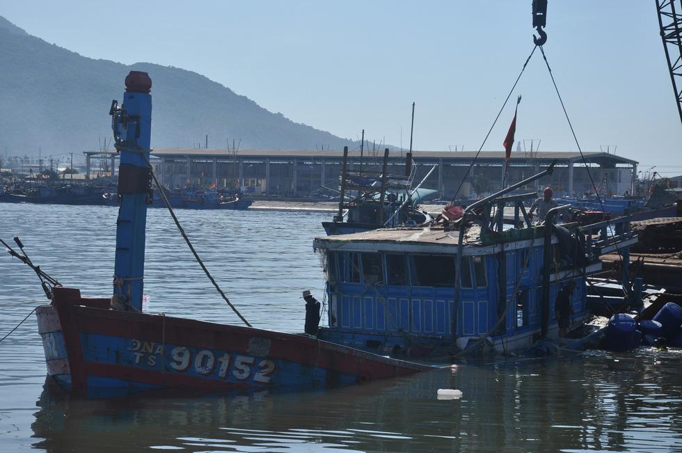 Con tàu lịch sử từng bị tàu Trung Quốc gây hấn về Nhà trưng bày Hoàng Sa - Ảnh 5.
