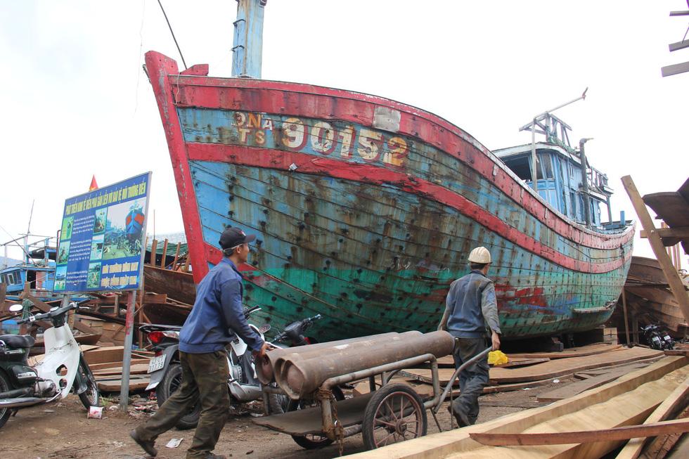 Con tàu lịch sử từng bị tàu Trung Quốc gây hấn về Nhà trưng bày Hoàng Sa - Ảnh 6.