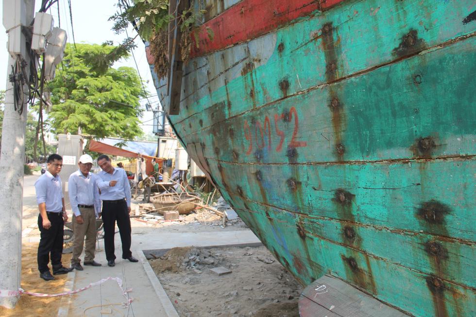 Con tàu lịch sử từng bị tàu Trung Quốc gây hấn về Nhà trưng bày Hoàng Sa - Ảnh 8.