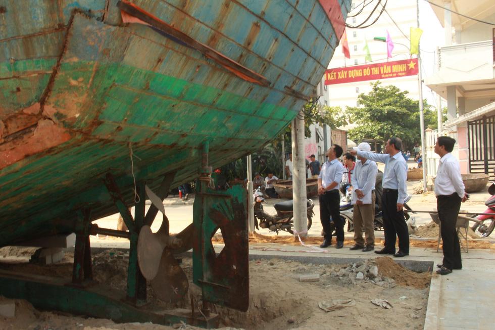 Con tàu lịch sử từng bị tàu Trung Quốc gây hấn về Nhà trưng bày Hoàng Sa - Ảnh 3.