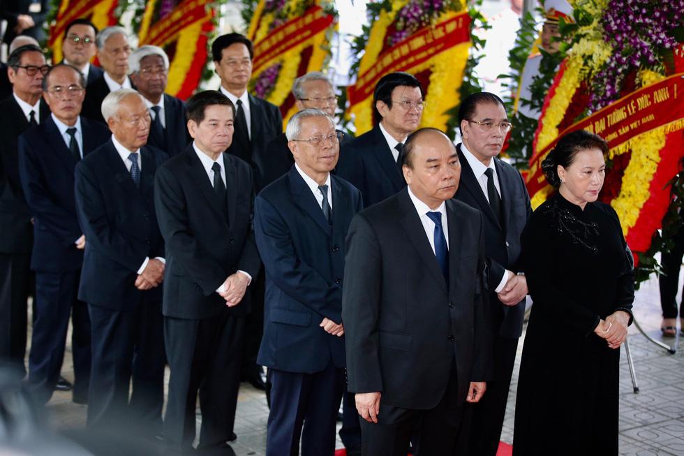 Lễ viếng nguyên Chủ tịch nước Lê Đức Anh - Ảnh 1.