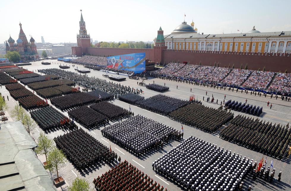 Nga trình diễn nhiều loại vũ khí mới trong duyệt binh Ngày chiến thắng - Ảnh 9.