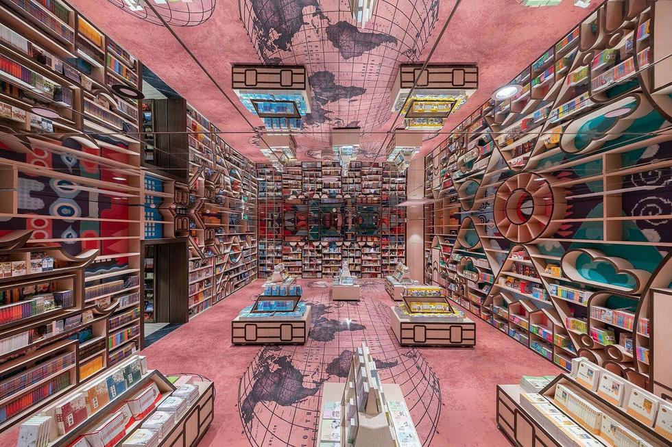 Mê mẩn với nhà sách mê cung ở Trung Quốc - Ảnh 2.