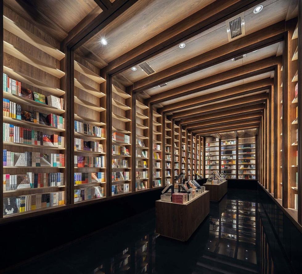 Mê mẩn với nhà sách mê cung ở Trung Quốc - Ảnh 5.