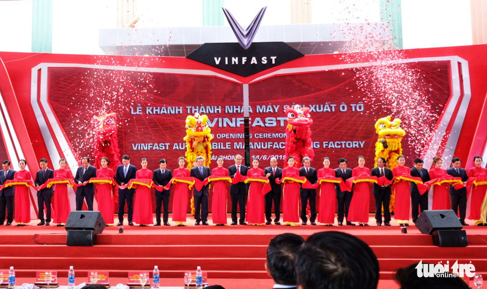 Vinfast chính thức vận hành nhà máy sản xuất ôtô - Ảnh 1.