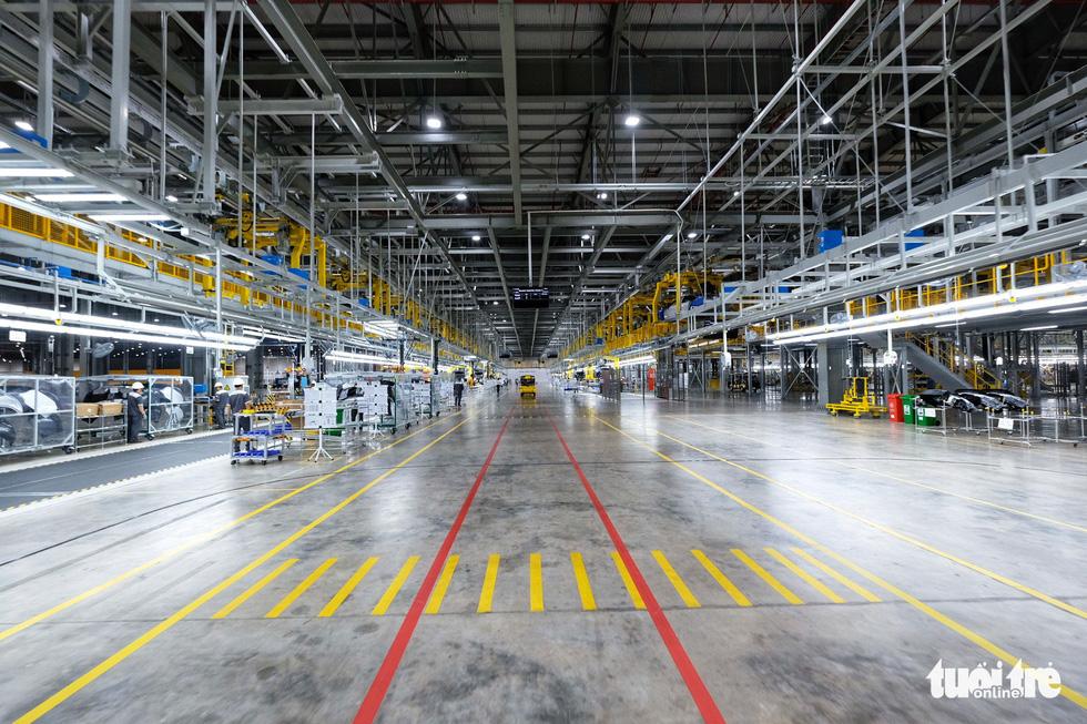 Vinfast chính thức vận hành nhà máy sản xuất ôtô - Ảnh 6.