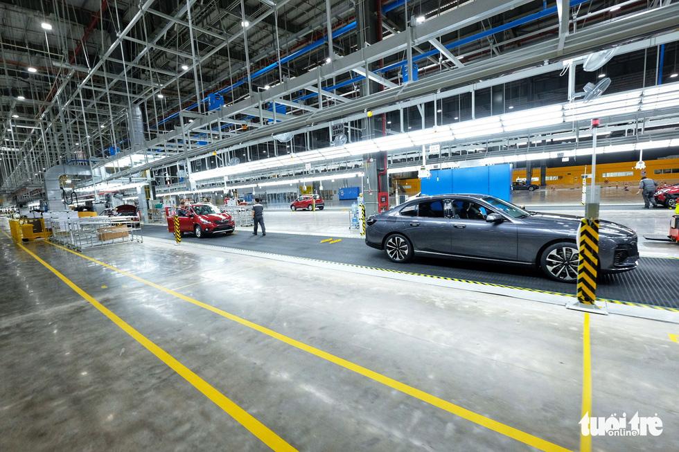Vinfast chính thức vận hành nhà máy sản xuất ôtô - Ảnh 7.