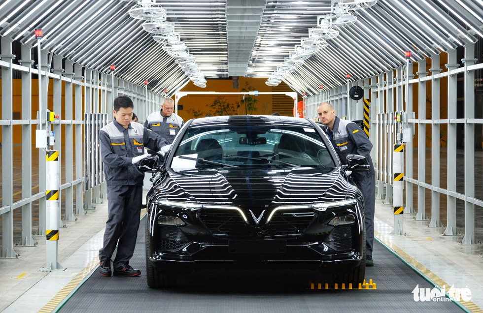Vinfast chính thức vận hành nhà máy sản xuất ôtô - Ảnh 8.