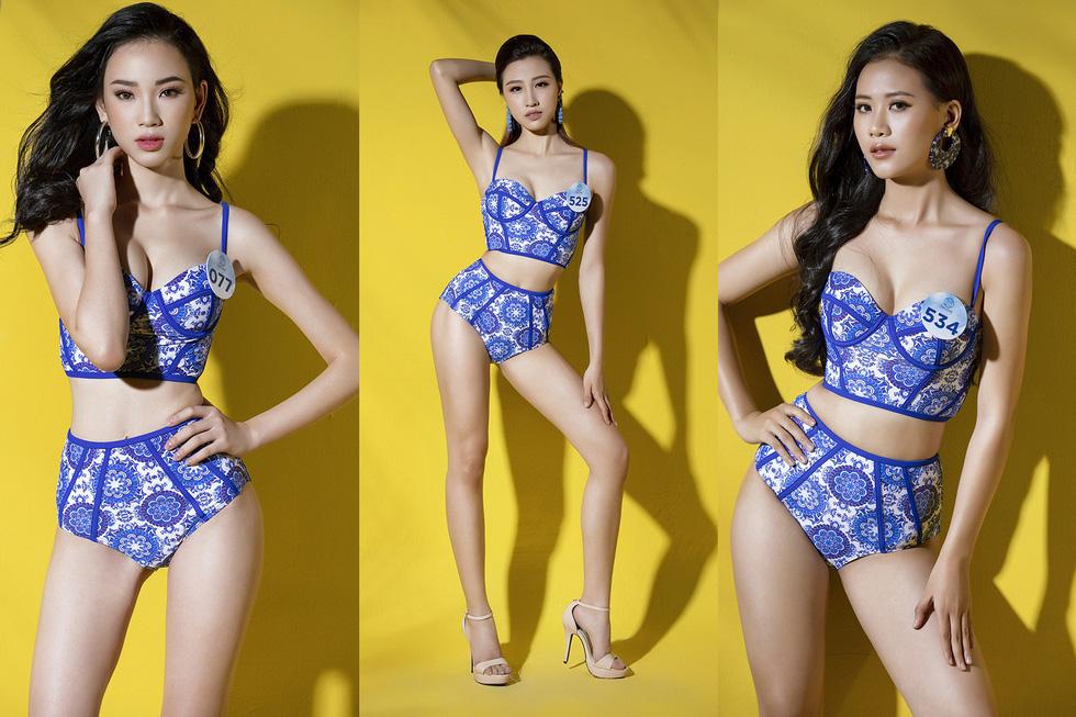 32 ứng viên Hoa hậu Thế giới Việt Nam trong trang phục áo tắm - Ảnh 7.