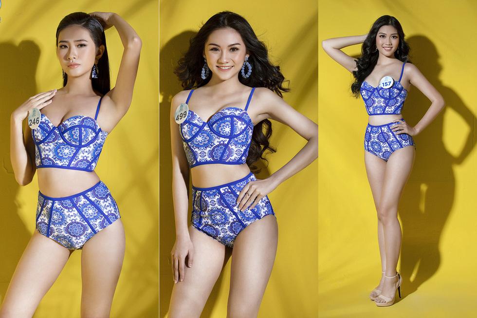 32 ứng viên Hoa hậu Thế giới Việt Nam trong trang phục áo tắm - Ảnh 8.