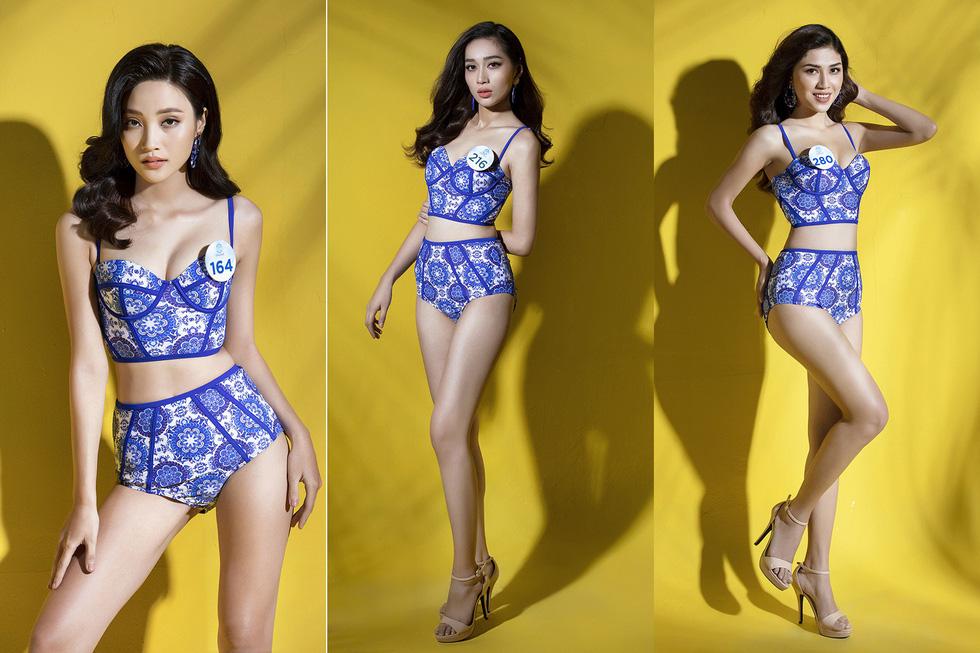 32 ứng viên Hoa hậu Thế giới Việt Nam trong trang phục áo tắm - Ảnh 11.
