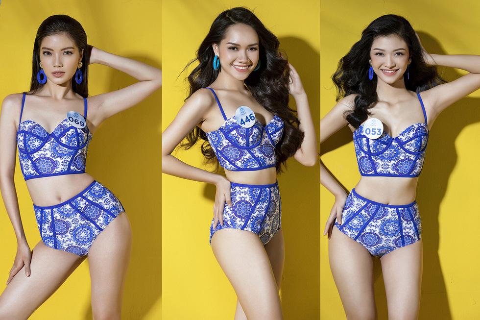 32 ứng viên Hoa hậu Thế giới Việt Nam trong trang phục áo tắm - Ảnh 2.
