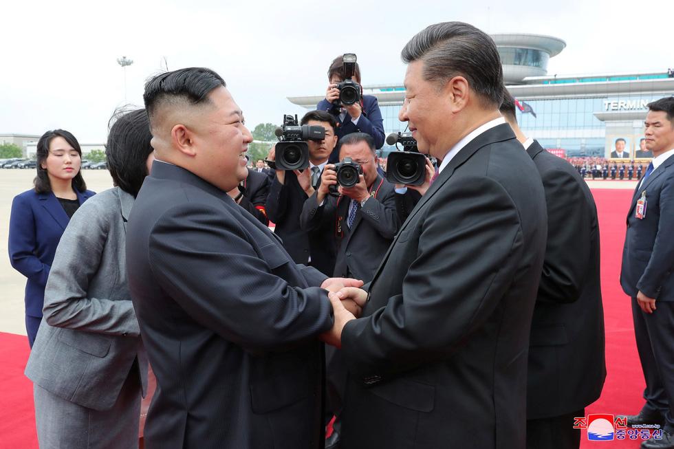 Trung - Triều giữ quan hệ sắt son 'bất kể thế giới có ra sao' - Ảnh 1.