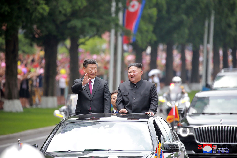Trung - Triều giữ quan hệ sắt son 'bất kể thế giới có ra sao' - Ảnh 2.