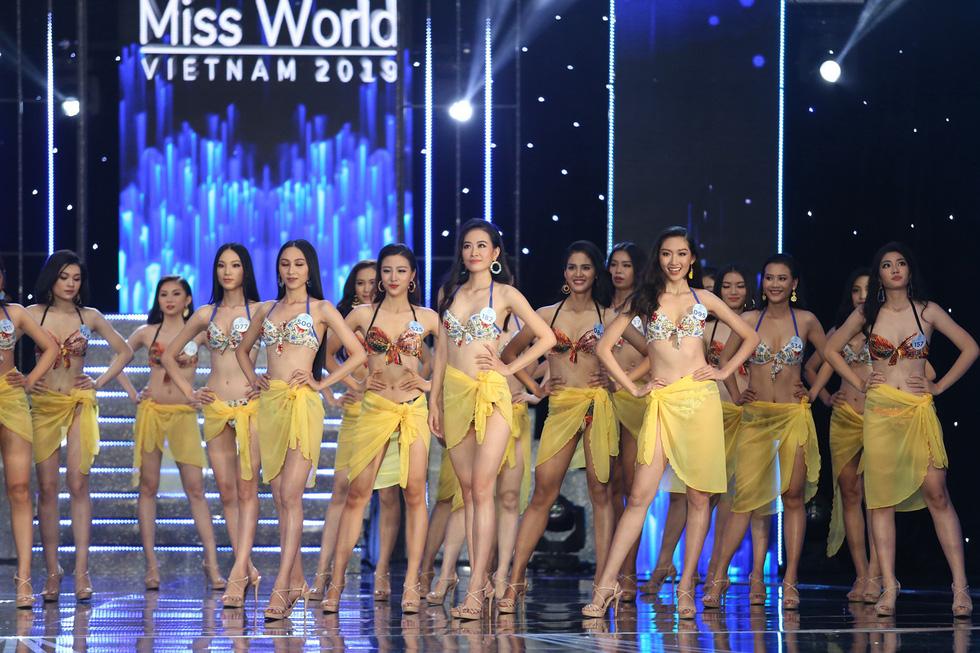 Video phần thi áo tắm Miss World Việt Nam 2019 - Ảnh 2.