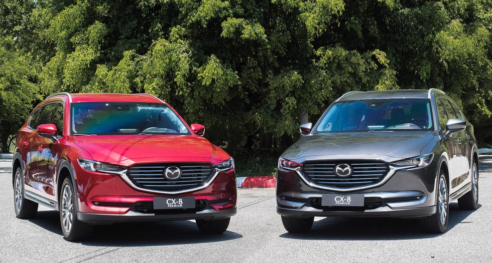 Thaco ra mắt mẫu xe Mazda CX-8, giá từ 1,149 tỉ đồng - Ảnh 3.